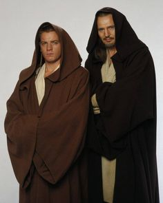 Jedi and padawan, Qui Gon Ginn and Obi Wan Kenobi