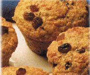 Recettes Québécoises - Muffins au son et gruau. On peut conserver la pate non-cuite au frigo et cuire au besoin.