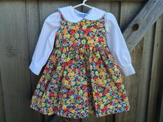 Vintage Baby Dress and Blouse 3T/Toddlers 3 by lishyloo on Etsy
