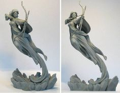 Sculpt reference of the tridimentional forms wow!!