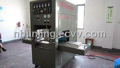 PET high frequency synchronal welding and cutting machine (JL-5000S PET) - China PET blister packing machine, JG Jinling