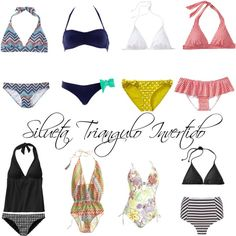 Body Type Clothes, Dress Body Type, Swimsuit For Body Type, Inverted Triangle Outfits, Inverted Triangle Body, Triangle Body Shape, Casual Outfits For Teens, Vintage Bikini, Moda Plus Size