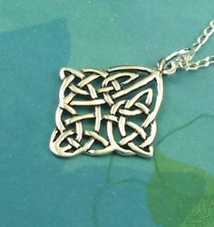 Irish Jewelry Celtic Knot Sterling Silver