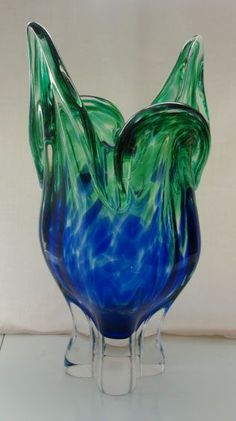 Egermann Contemporary Art Glass Vase from Czech Republic * I own this in pink