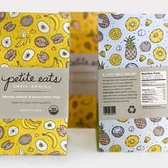 Trail mix packaging design. : @petiteeats_trailmix by packagingdesigninspo