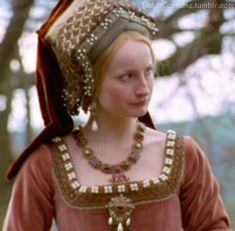The gabled hood was really an impressive piece of headwear when you think about it.