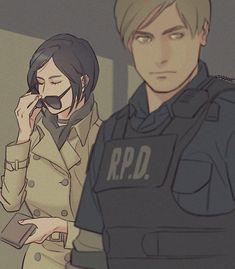 Resident Evil 3 Remake, Resident Evil Game, Fanart, Resident Evil Collection, Videogames, Leon S Kennedy, Ada Wong, Evil Anime, Horror Video Games