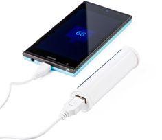 De #Powerbank Cilinder is een praktisch geschenk en is perfect als #weggever op beurzen. Met de krachtige 2.200 mAh Li-ion batterij kunt u altijd en overal uw smartphone of tablet opladen.  Het cilindervormige design geeft de powerbank een speels en opvallend uiterlijk. De powerbank Cilinder wordt incl. (micro) #USB kabel geleverd.