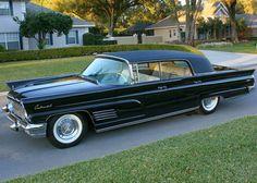1960 Lincoln Continental Mark V Formal Sedan.