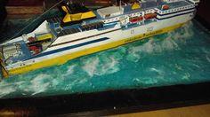Model Ships, Diorama, Boat, Dinghy, Boating, Boats, Dioramas