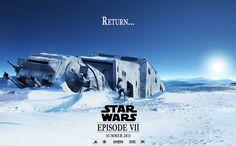 Star Wars Episode 7 fan art movie Poster by HanSagan.