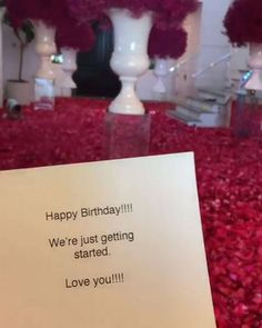 """Travis Scott Gifts Kylie Jenner With Rose Petal Covered Floors """"We're just getting started"""" Kylie Jenner Bedroom, Casa Kylie Jenner, Kylie Jenner Birthday, Kardashian Jenner, Birthday Week, 22nd Birthday, Happy Birthday, Birthday Roses, Birthday Ideas"""