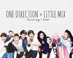 One Direction and Little mix(: