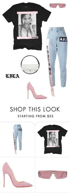 """""""Business"""" by fashionoise ❤ liked on Polyvore featuring Au Jour Le Jour, Christian Louboutin and Christian Dior"""