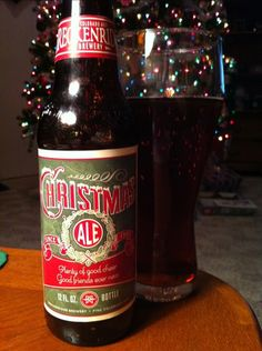 Breckenridge Brewery – Christmas Ale. Dark amber in color a very light bodied brew. No distinct flavors. A forgettable seasonal beer.