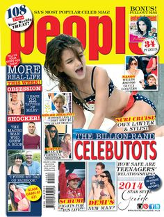The Billion-rand Hollywood Celebutots! Issue 3.