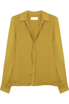 A.L.C. Arissa silk blouse
