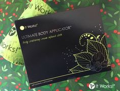Wrap your gifts, wrap your body, and wrap your Wrap! With the It Works! Wrap + Fab Wrap, you'll be taking wrapping to a #WholeNothaLevel this holiday season!