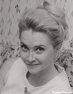 Young Susan Flannery from Bold and the Beautiful