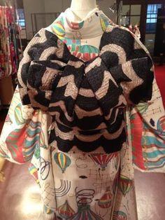 帯結び Japanese Kimono, Asian, Blouse, Clothes, Tops, Women, Outfit, Clothing, Asian Cat