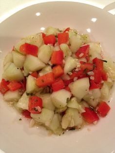 Cucumber & Pepper Salad