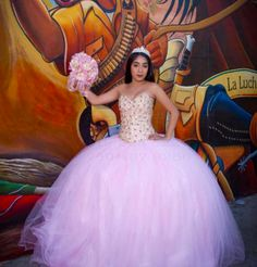A pink ball gown will help your daughter look like the princess she is. Her quinceanera dress should be elegant yet whimsical. Quinceanera Dresses, Prom Dresses, Formal Dresses, Wedding Dresses, Rent Party, Quince Dresses, Event Venues, Corporate Events, Pink Dress