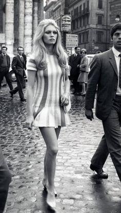 Love that dress...Brigitte Bardot.
