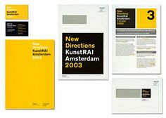 black, white and yellow simple and bold book, brochure, brochure ...