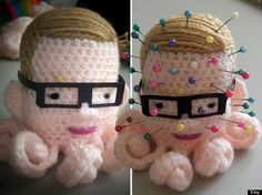 Michael Gove pincushion - every classroom should have one.