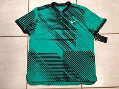 NWT NIKE Roger Federer 2017 Australian Open Advantage RF Polo Shirt Men's Small  | eBay