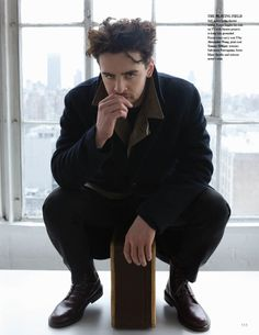#VincentPiazza of #BoardwalkEmpire by Saria Atiye for Fashionisto