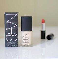 makeup for pale skin: NARS sheer matte foundation in Siberia #crueltyfree