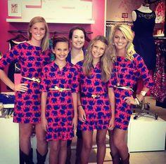 I want this elephant Lilly dress so bad