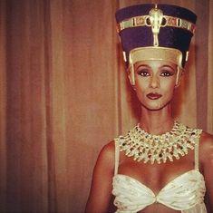 Iman as Nefertiti