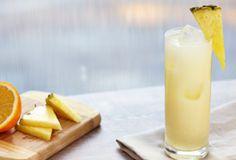 White, Pineapple & Soda - 1.5 oz.Captain Morgan® White Rum, 5 oz.pineapple juice, 1 oz.club soda