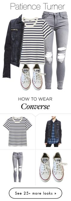 """Patience Inspired Outfit"" by demiwitch-of-mischief on Polyvore featuring AMIRI, RtA, Converse, supernatural, spn, WaywardSisters and patienceturner Outfits With Converse, Girly Outfits, Outfits For Teens, Cool Outfits, Casual Outfits, Shoes For Teens, Fall Fashion Trends, Teen Fashion, Fashion Outfits"