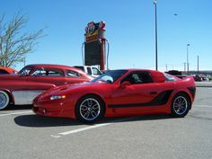1986 Pontiac Fiero GT....remember these?  How sweet is this one?