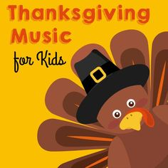 Fun Thanksgiving music and songs to use in your preschool or kindergarten classroom. Preschool Music, Fall Preschool, Preschool Activities, Preschool Lessons, Autumn Activities, Preschool Learning, Therapy Activities, Youtube Videos For Kids, Youtube Songs
