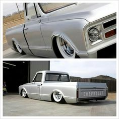 Gotta love a Chevy C-10 with whitewalls!