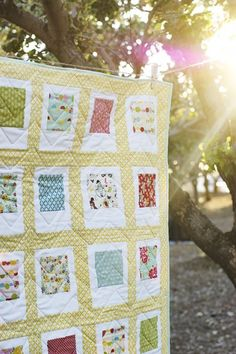 Polaroid Quilt tutorial