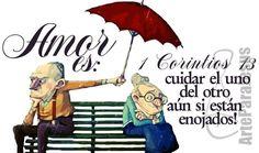 Amor es cuidar el uno del otro #AmorPuro #AmorsinRencor #AmorEterno #MatrimoniosFelicesyBendecidos