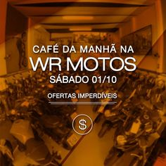 zpr ☕ #CafédaManhã na WR Motos ⠀ ➡ 01/10 | sábado | a partir das 09h00 Venha saborear um café da manhã conosco e conferir as #ofertas e condições especiais que separamos para você! ⠀ 🏢 Endereço: Avenida dos Imigrantes, 2010 - Jardim América em Bragança Paulista ⠀ 📲 ¹¹97110-6997 (WhatsApp) 📞 ¹¹4032-0873  #moto #motos #motoshow #supermoto #amomoto #compromoto #vendomoto #compreonline #ecommerce #webmotors #photooftheday #bragança #bragançapaulista #financiamento #wrmotos #wr