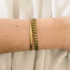 Glemmegei - Vår fiskebensarmbånd Messing, Bracelets, Gold, Jewelry, Jewlery, Jewerly, Schmuck, Jewels, Jewelery