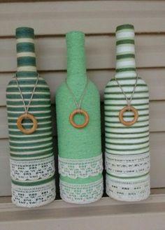Altered bottle crafts