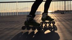 """""""Skate to Run – Inline skating makes you a better runner"""" Train Activities, Inline Skating, Low Impact Workout, Workout Regimen, Stay In Shape, Burn Calories, Stay Fit, Roller Blading, Skiers"""