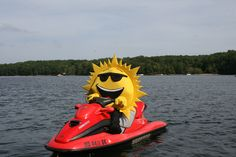 Renting a jet ski on Deep Creek Lake in McHenry, Maryland, is always fun!!!