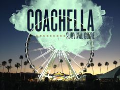 Ahhh. We remember our first coachella. Everyone told you if you're not camping you're crazy?