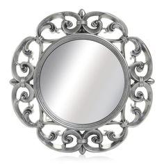 Wilko Ornate Mirror Round