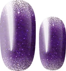 Lily Fox, Violet Ombre, Cat Nails, Lilac, Pink, Nail Wraps, Manicure, Glitter, Color