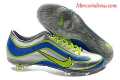 481b1e2ac Mercurial Vapor XV Limited Edition 1998 Mercurial Silver Blue Green Soccer Shoes  Nike Football